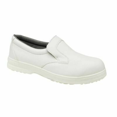 Mens/Womens Catering Hospital Kitchen Slip On Steel Toe Safety Shoes