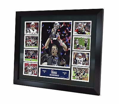 Tom Brady Signed 2017 New England Patriots photo Memorabilia Limited Edition