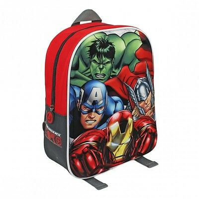 AVENGERS backpack 3D Licensed Product Hulk Ironman Captain America Thor backpack