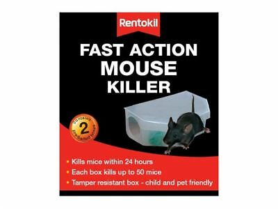 Rentokil Mouse & Rat Killer Poison Trap Bait Pasta Bait Box Fast Acting