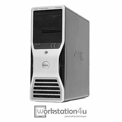 Dell Precision T5500 Workstation 2x Xeon E5620 12GB RAM FX1800 250GB HDD W7 W10