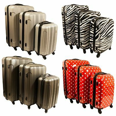 Runway Hardshell 4 Wheels ABS Suitcase Travel Luggage Lightweight