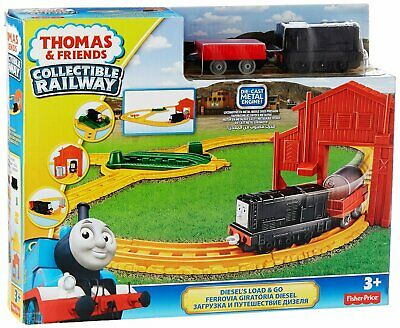 Diesel's Load and Go Train Set Thomas and Friends Collectible Railway NEW