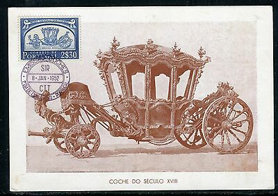 Portugal - Carte Maximum 1952 - Carrosse du XVIII