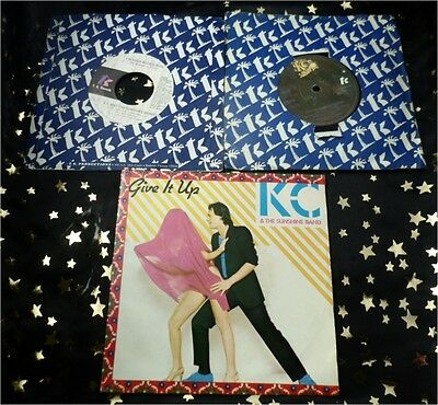 KC & THE SUNSHINE BAND * 3 Sgl. GIVE IT UP + IT´S THE SAME OLD SONG + BOOGIE MAN