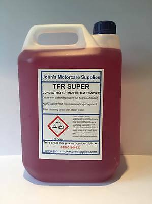 5 Litres Concentrated Traffic Film Remover TFR Car Truck Wash Engine Degreaser