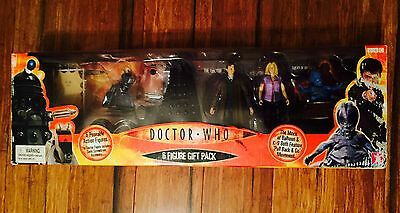 Doctor Dr Who 6 Figure Gift Pack - USA EXCLUSIVE - VERY RARE