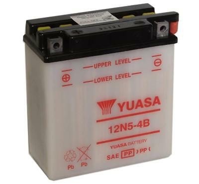 Genuine Yuasa 12N5-4B 12V Motorbike Motorcycle Battery