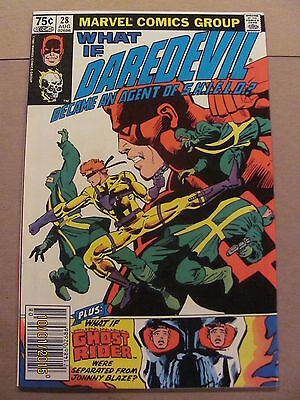 What if #28 Marvel Comics 1977 Series Daredevil Frank Miller 9.4 Near Mint