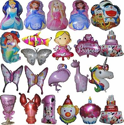 Theme Balloons Baby Shower Kids Birthday Party Supplies Decoration Favor Gift