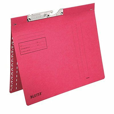 Leitz 20120025 - hanging folders & accessories (Red, Cardboard, A4) (s8G)