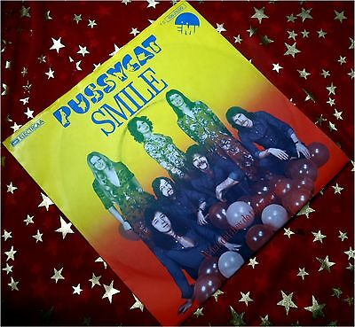 PUSSYCAT - Smile / What Did They Do * KULT 1976 * TOP (M-:)) PREIS HIT SINGLE