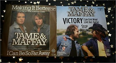 TAME & MAFFAY * 2 TOP Singles * VICTORY + MAKING IT BETTER