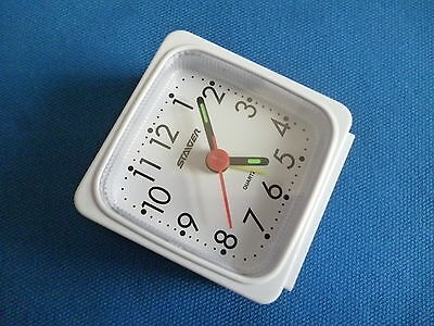 Wholesale Job Lot. 20 x Staiger German White/Red Bleep Alarm Clocks. £1.40 each.