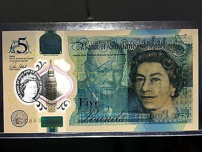 Bank of England Polymer AK 47 £5 Five Pound Note Collectable Extremely Rare
