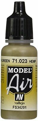 Vallejo Model Air, Colore Acrilico, 17 ml, Beige (Hemp) (u8v)