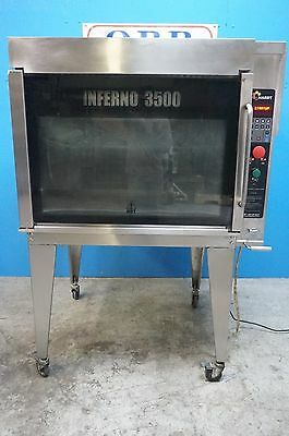 Hardt Natural Gas Commercial Rotisserie Model Inferno 3500 Mfg.2009
