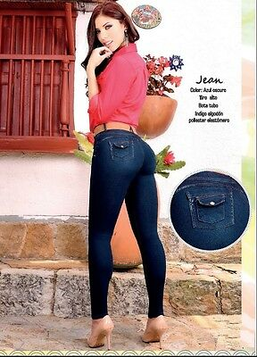 Colombian Push Up Jeans - Jeans Levanta Cola Colombianos