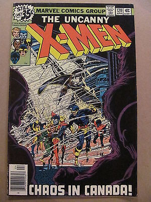 Uncanny X-Men #120 Marvel Comics 1963 Series 1st app Alpha Flight