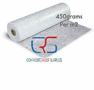Fibreglass 450g Chopped Strand Mat 2kg roll 4.4m² - Fibreglass Matting