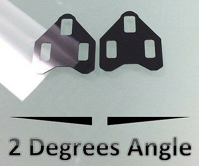 2//4 Degrees WEDGES FOR SHIMANO SPD-SL road bike pedal cleat wedges shim spacer