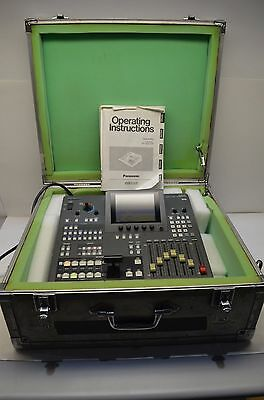 Panasonic AG-MX70 Digital Video AV Mixer MX70P AGMX70 w/ Case & Manual