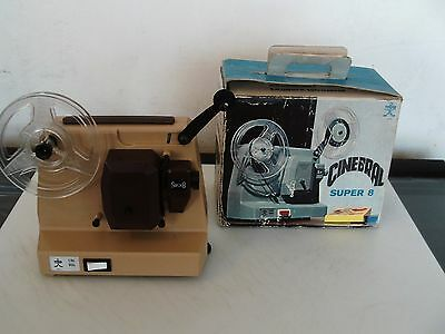 Cine Super 8 Mm Projector By Cinebral Italy 1970's Kids Projector