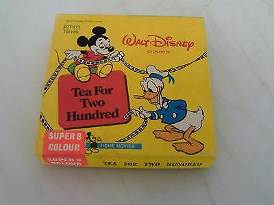 Walt Disney - Donald and mickey Super 8mm Film Silent Movie Colour Color Vintage