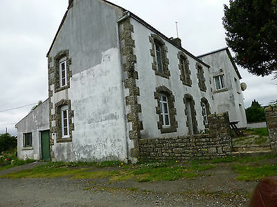 Former Farm House In Central Brittany 4 Bedroom Detached Stone Built Property