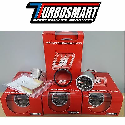 """NEW IN STOCK"" Turbosmart 0-30PSI Boost Gauge 2 1/16"" 52mm  W/ All Hardware"