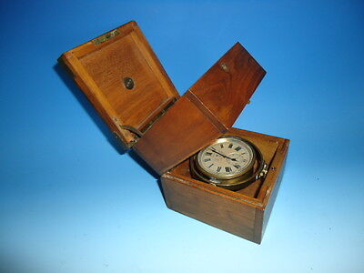 WW1 Longines ships chronometer clock in fine running condition. serial #2977212