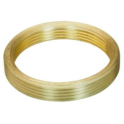 RMS female to M24x0.75 male thread adapter, flat, bronze