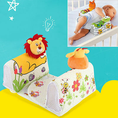 """UK"""" SOZZY Baby Infant Airflow Sleep Positioner Anti Roll Animal Lion Pillow NEW"""