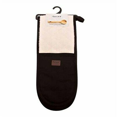New Baccarat Kitchen Double Oven Glove Black