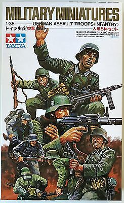 Tamiya 35030 German Assault Troops (Infantry) 1/35 Model Kit NIB