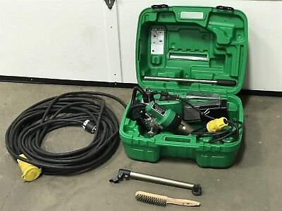 Leister 154.453 Hot Air Welder Uniroof At With Power Cord Used Nice