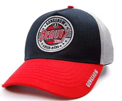 "Gongshow Hockey ""full Contact Lager"" Meshback Adjustable Hockey Cap Hat"