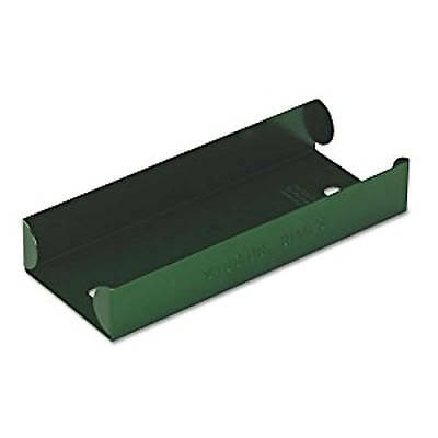 Green Aluminum Dime Coin Roll Storage Tray, Heavy-duty