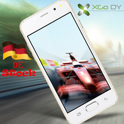 "XGODY Débloqué d'usined Quad Core 8GB 4.5"" Android 5.1 Smartphone 3G/2G 5MP 2SIM"