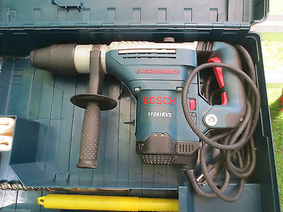 BOSCH 11241evs ROTARY HAMMER DRILL in great working order ROTO evs 11241 case