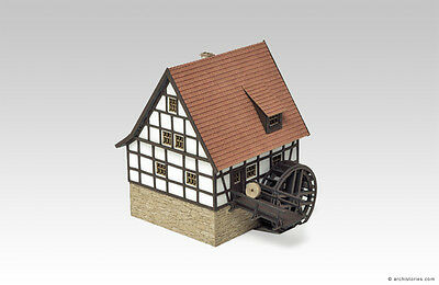 Archistories Z Scale 706141 Motorized Watermill Animated Building Kit *NEW$0SHIP