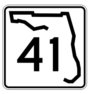 Florida State Road 212 Sticker Decal R1501 Highway Sign