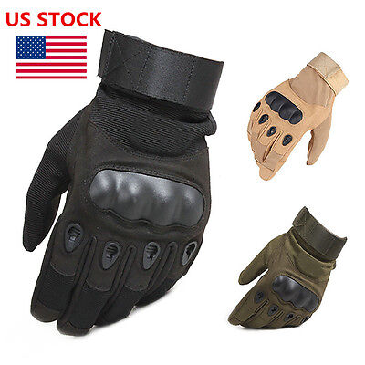 Tactical Gloves Full Finger Outdoor Sports Cycling Bicycle Gym Training Gloves