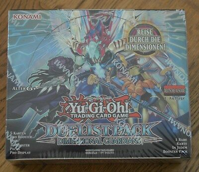 Yu-Gi-Oh! Duelist Pack: Dimensional Guardians 36 Booster Display (de) 1. Auflage