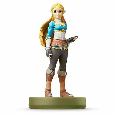 Amiibo Zelda Breath Of The Wild The Legend of Zelda Nitendo Switch Wii U Japan