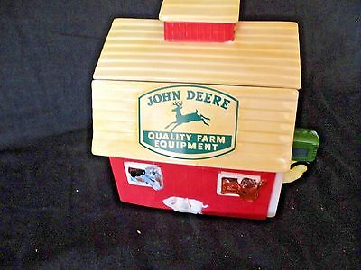 John Deere Cookie Jar Tractor Marketed By Gibson