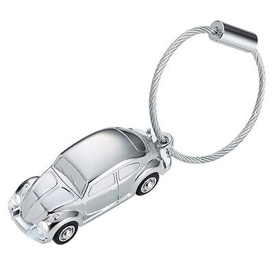 NEW Troika VW Beetle With LED Light Keyring