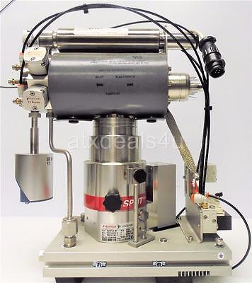 Pfeiffer SplitFlow 80 Vacuum Pump with TC110 and Inficon CDG025D 10 Torr
