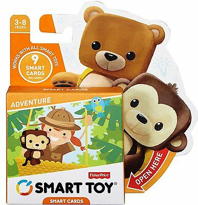 NEW Fisher-Price Smart Cards  - Adventure - Ages 3-8