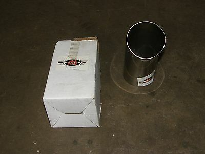 "2 1/2"" Dump Pipe Redback 304 Chrome Exhaust Tip"